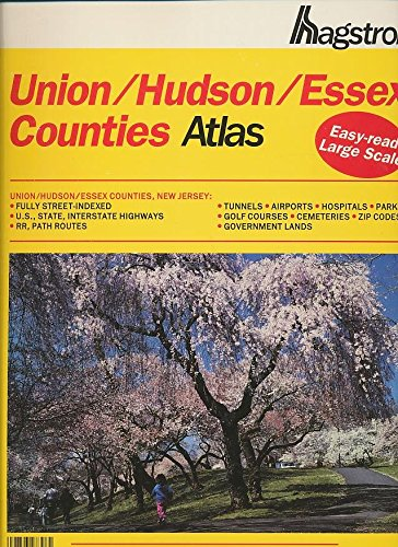 Hagstrom Union, Hudson, Essex Counties Atlas, 1992/Large Scale Edition (HAGSTROM ATLAS UNION/HUDSON/ESSEX COUNTIES STREET ATLAS & METROPOLITAN NEW YORK ROAD ATLAS)