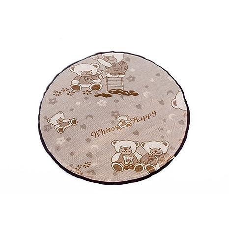 WINNERUS - Colchoneta de refrigeración para mascotas con diseño de oso pequeño para cama fría y