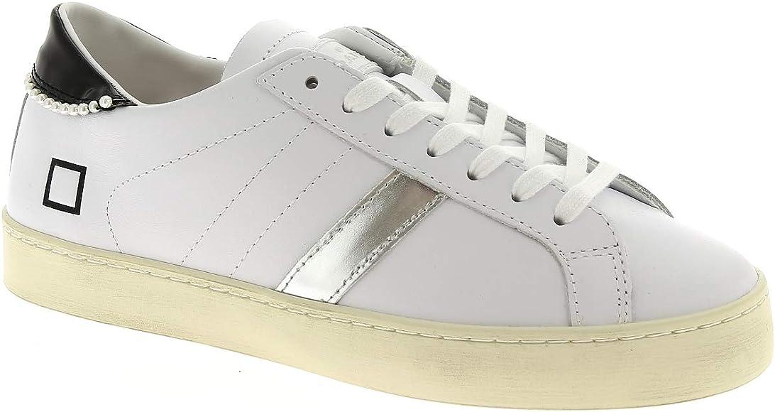 Il meglio del 2019 acquista originale come ordinare Date Sneakers Donna Hill Low Calf Pearl White