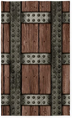 CafePress Medieval Chest 3'X5' Decorative Area Rug