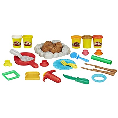 Play-Doh Campfire Picnic Playset: Toys & Games