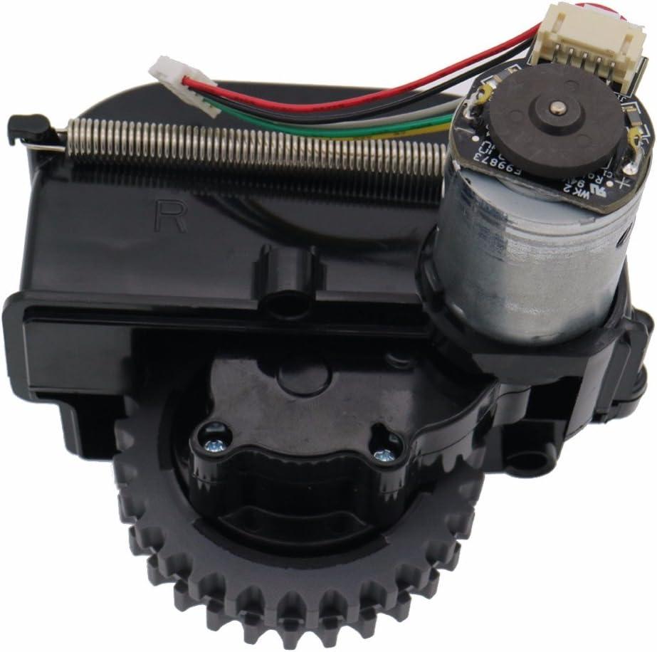 Louu Robot Aspirador Accesorios Piezas para Ilife V3 + V3 X 5 V5 V5s Ruedas Robot Aspirador Motores (Rueda Derecha): Amazon.es: Hogar