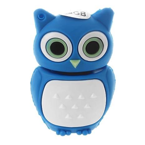 SODIAL R 32GB Memoria USB de Novedad de Pinguino lindo del bebe Tarjeta de memoria Blanco y Negro