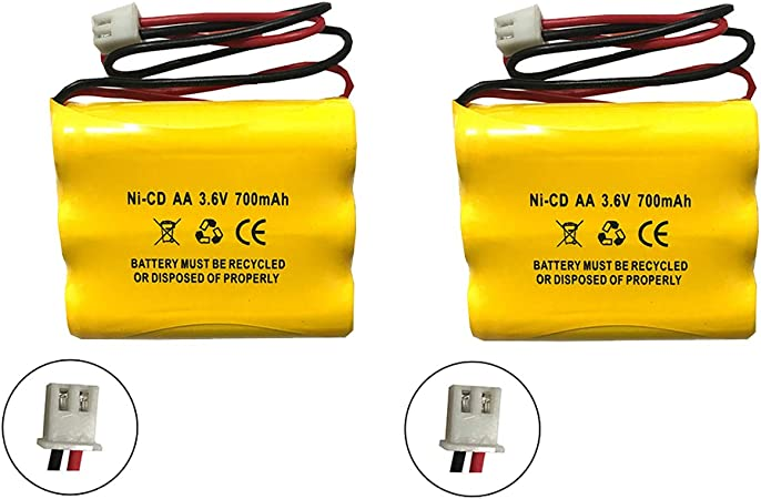 Exit Light BGN800-3GWP-PR326EC Ni-CD Battery Replacement for Emergency