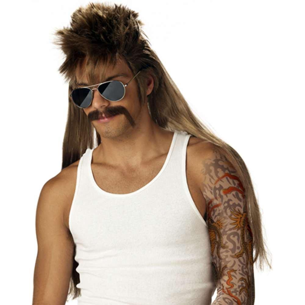 California Costumes Men's Mississippi Mudflap Wig & Moustache Multi One Size 70563-Multi-One Size