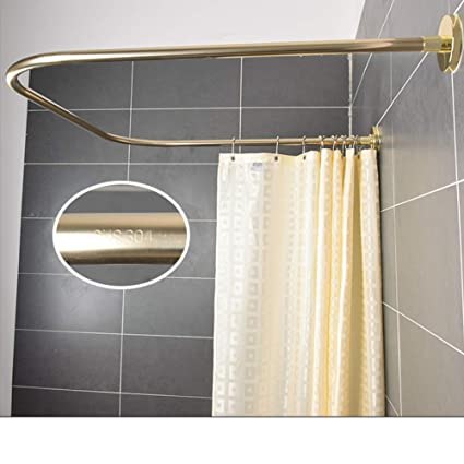 Circular shower rod shower rail 80 90 100 cm