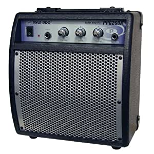 pyle pro ppg260a 80 watts portable guitar amplifier musical instruments. Black Bedroom Furniture Sets. Home Design Ideas