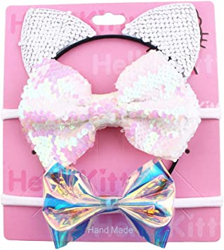 6 Pezzi di Fascia Bambina Accessori Baby Headband Baby Girl Headband Hair Band Baby Girl Headband Knot Hair