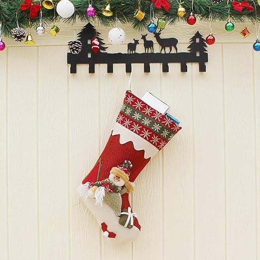Simanli Duradero calcetín de Navidad Botas de Navidad ...