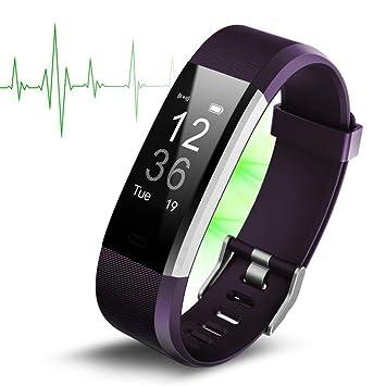 Fitness Tracker, fitness pulseras Actividad tracker, monitor de frecuencia cardíaca, dormir Monitor,