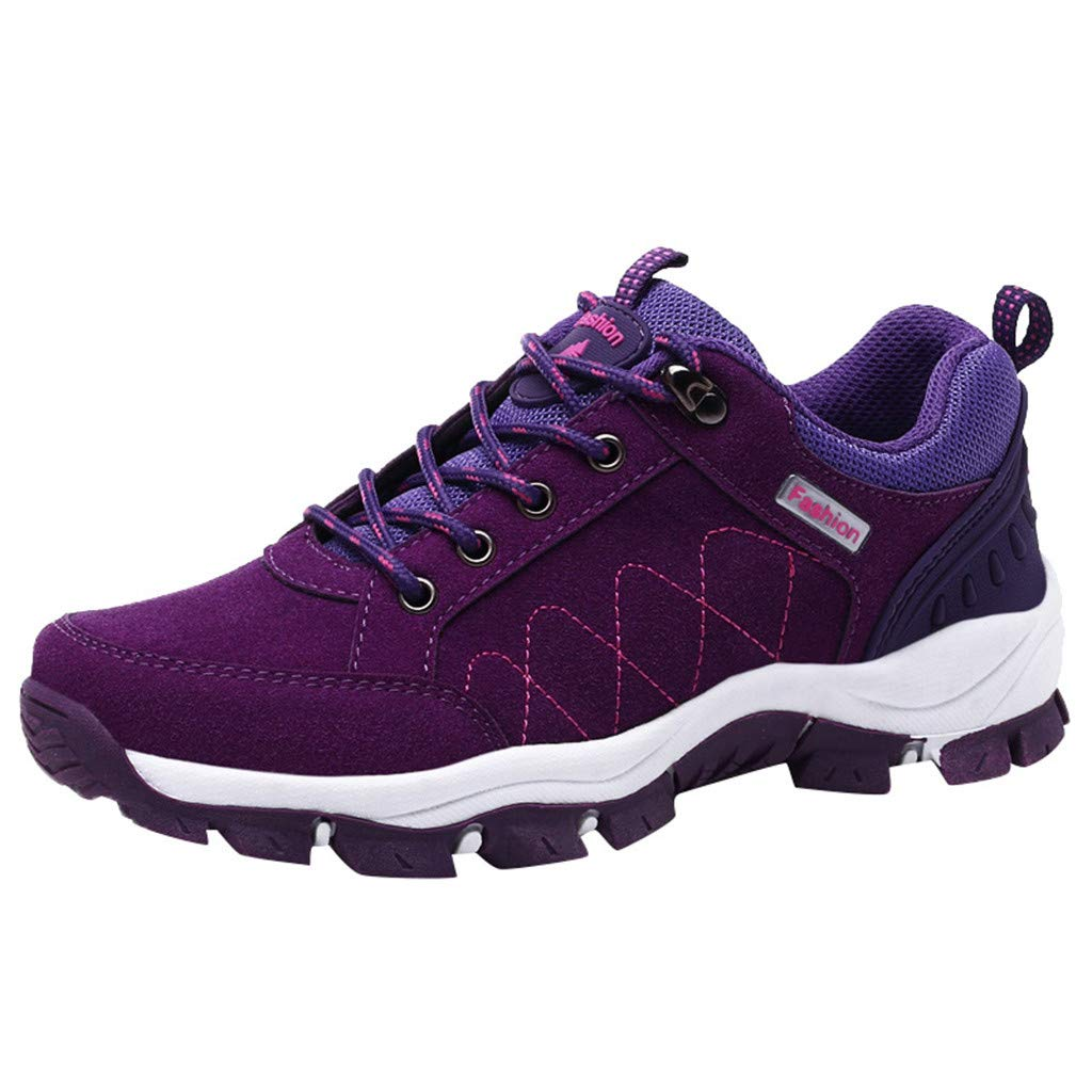 Women/'s Hiking Shoes Outdoor Trail Trekking Sneakers Breathable Climbing Shoes