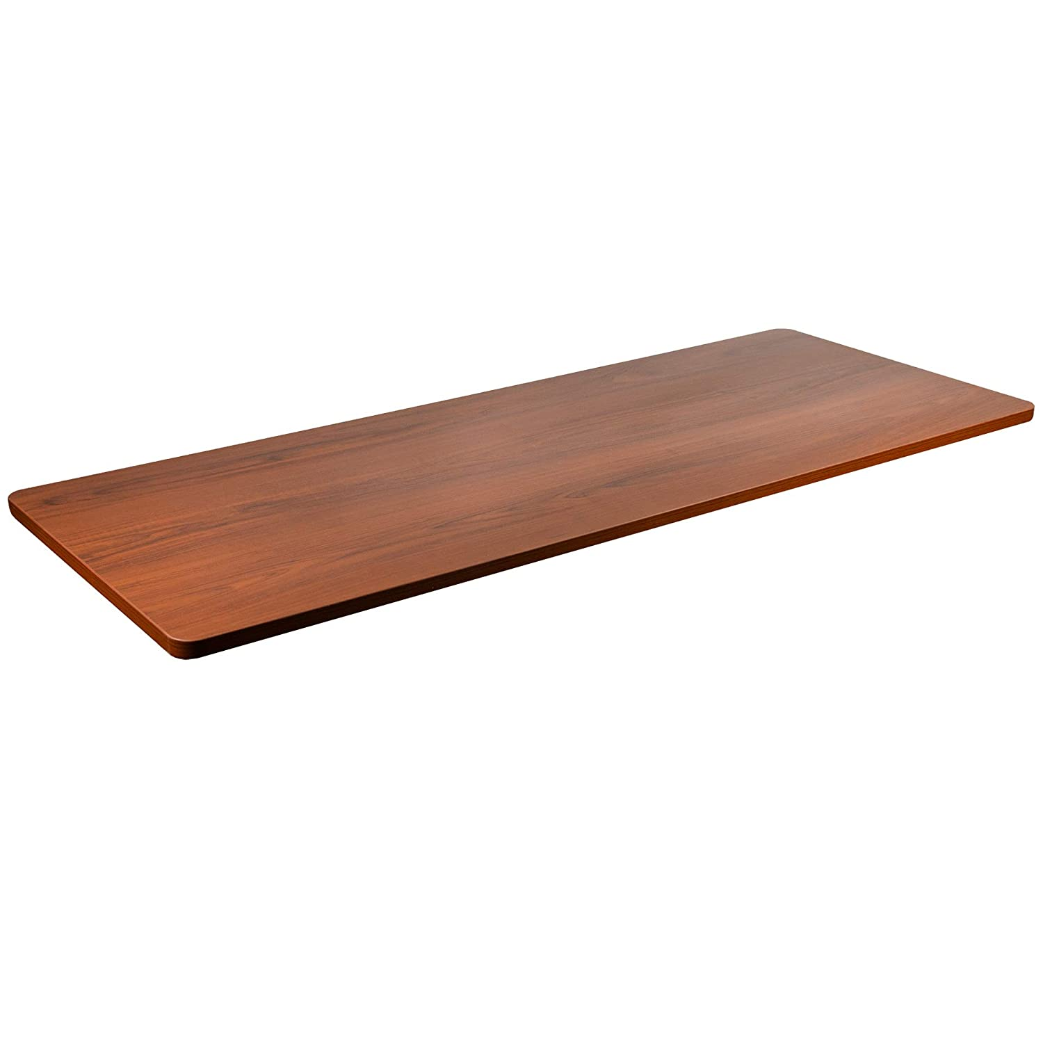 VIVO Dark Walnut 60 x 24 inch Universal Table Top for Standard and Sit to Stand Height Adjustable Home and Office Desk Frames (DESK-TOP60D)
