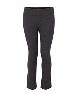 Boxercraft Girls Practice Yoga Pants (S16Y) -CHARCOAL -M