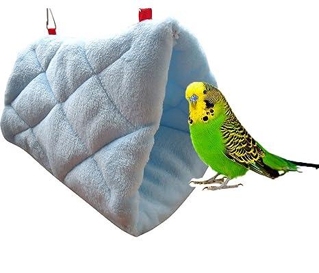 Nido de pájaro cálido para el invierno, tipo casa, para jaula de ...