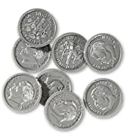 Learning Resources Play Money: Dimes 100 Pack
