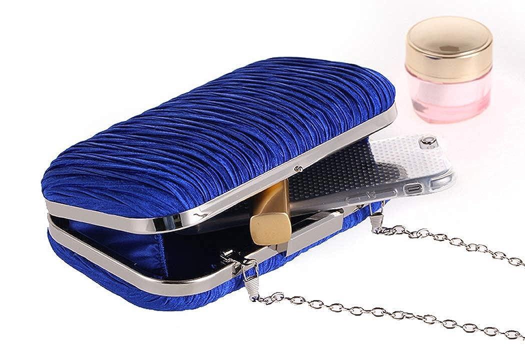 Abendtasche Einfache Plissee Damen Damen Damen Clutch Bag Handtasche Hartschalenetui Für Party, Hochzeit & Clubs Als Geschenk B07MMD1Y3Q Clutches Zuverlässige Leistung b8d5dd