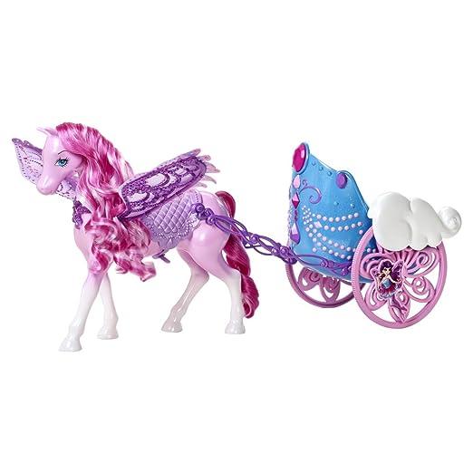 9 opinioni per Mattel Y6382- Barbie Pegasus e la Carrozza delle Fate