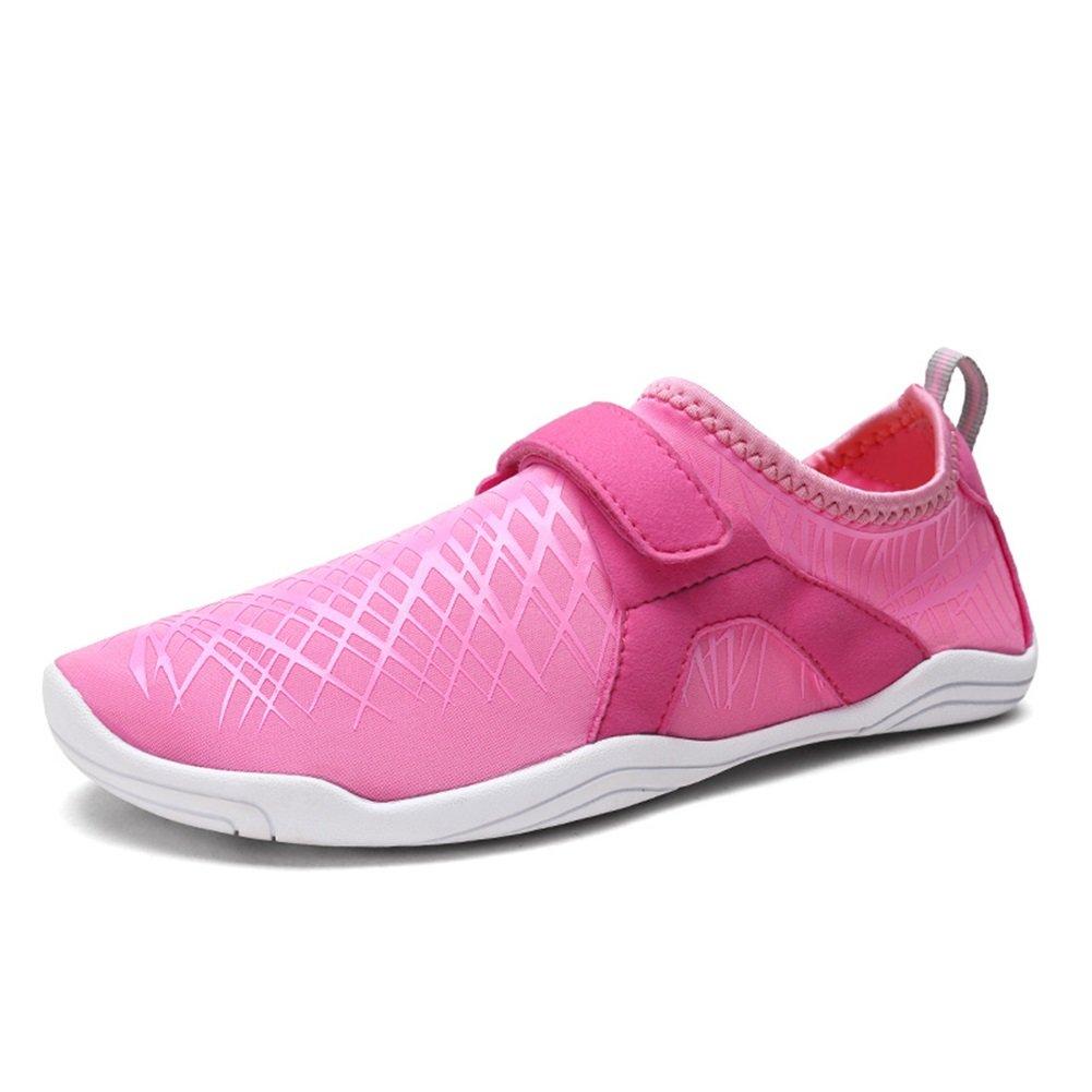 XUE Schwimmen Tauchen Schuhe Waten Schuhe Sportschuhe barfuss Sandalen Weichpaste Haut Strand Schuhe Blau, Schwarz, Rosa, Grau