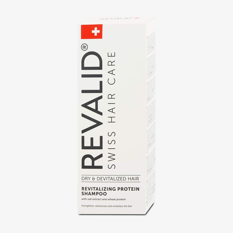 REVALID Revitalizing protein shampoo with oat extract wheat protein and panthenol B5 / Champú de proteína con avena Extracto de trigo proteína y ...