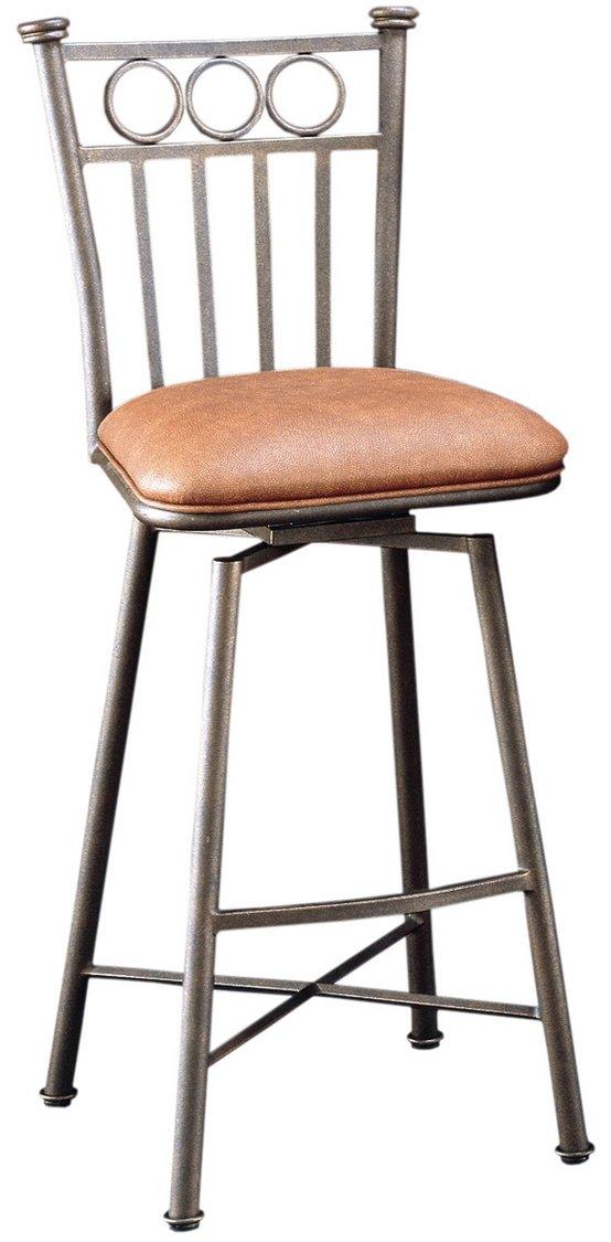 amazoncom pastel furniture bostonian swivel barstool 30inch bronze and shandora toast kitchen u0026 dining