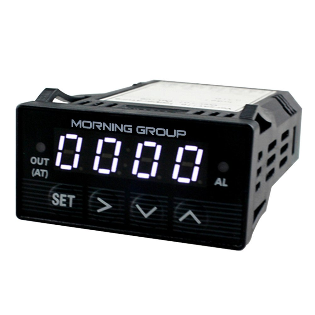 Morning Group Intelligent Programmable PID Temperature Controller 1/32 DIN LED Digital Display XMT7100(White)