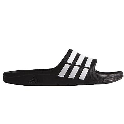 896ff5357 adidas Duramo Slide Mens Flip Flop Sandal Black
