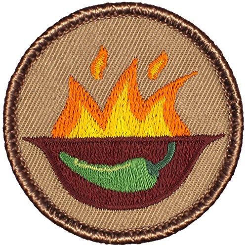 Round Chili (Flaming Chili Bowl Patrol Patch - 2