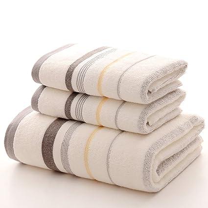 Juego de toalla de baño de algodón pura, Engrosamiento y agrandamiento de toalla, Hombres