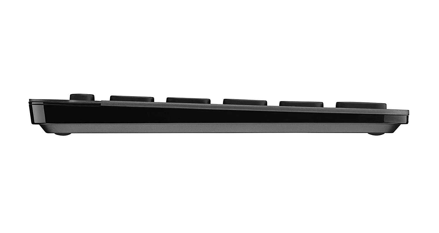 the side view of a keyboard logitech K810