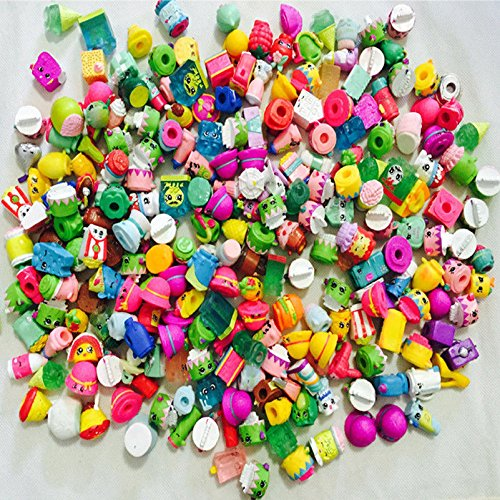 50pcs/lot Shopkined Season 1 2 3 4 5 Kids Model Doll Shopkin Toys (Sucker Punch Pokemon)