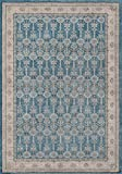 Cheap Momeni Rugs Kerman Collection, Antique Persian Inspired Traditional Area Rug, 2′ x 3′, Blue