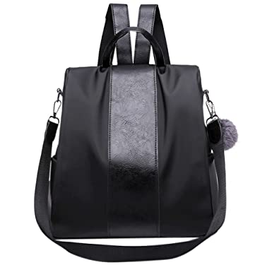 Amazon.com: Clearance Sales Backpack, MaxFox Unisex Oxford Travel Business Bags Solid Color Shoulder Bag Diagonal Package (Black): Clothing