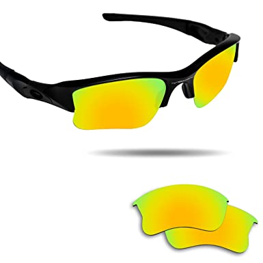 6ee0f2d52f5 Image Unavailable. Image not available for. Color  Fiskr Anti-saltwater Replacement  Lenses for Oakley Flak Jacket XLJ Sunglasses ...