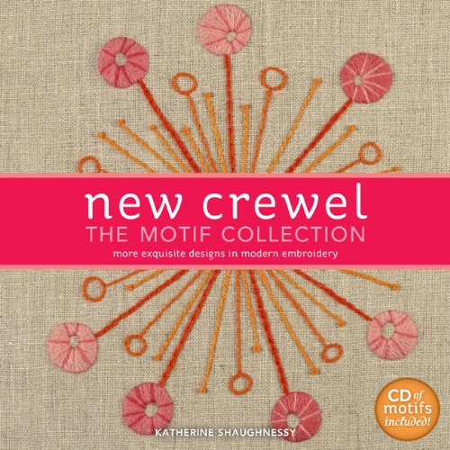 Patterns Embroidery Crewel - New Crewel: The Motif Collection: More Exquisite Designs in Modern Embroidery