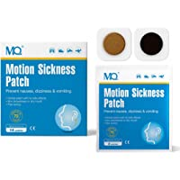 MQ Motion Sickness Patch for Car and Boat Rides, Cruise and Airplane Trips - Relieves Nausea, Dizziness & Vomiting from Seasickness, Fast Acting and No Side Effects (28 Count)