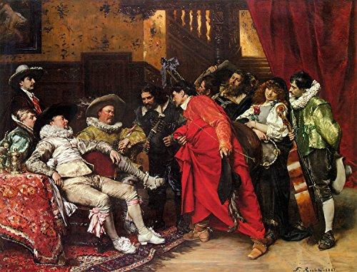 The Troubadours by Ferdinand Roybet - 16