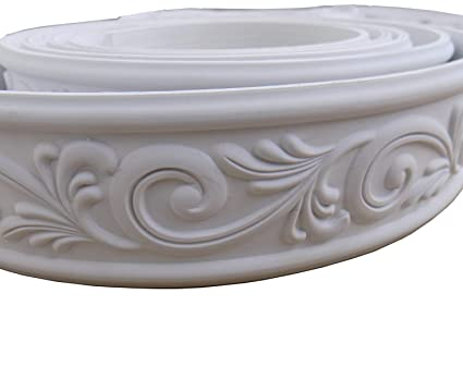 Zhangbl Home Decorate Modelling Crown Mouldings Trim Flexible Molding  Ceiling Border Line Interior Decoration Wall Picture