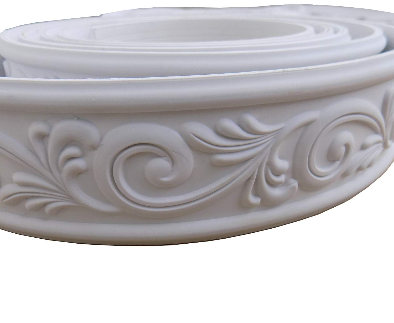 Home Decorate Modelling Crown Mouldings Trim Flexible Molding Ceiling Border Line Interior Decoration Wall Picture Edge Waist Door CasingCorners 2.36'' x 0.24'' x 115''