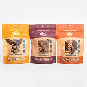 Wild Earth Healthy Protein Dog Treats with Superfood Koji, Healthy Treats with No Filler Ingredients