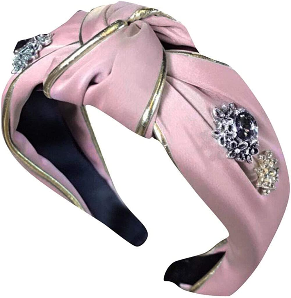 LARNOR Wide Headbands Knot...