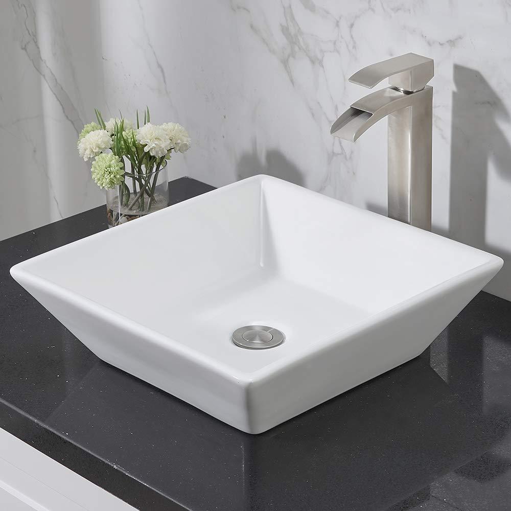 Elegant Decor VF-1022 Single Bathroom Vanity Set, 25 , Antique White VF-1022