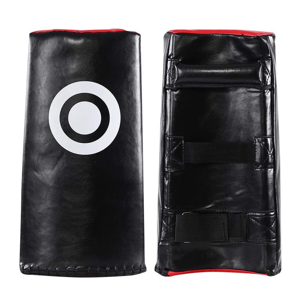 Taekwondo Kick Pad Boxing Karate Pad,1 PC Boxing Karate Kick Punching Training Target Soft PU Sponge Pad MMA Training Focus Target Muay Thai for Adult Children(Black)