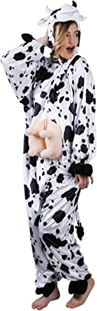 Boland - Disfraz de Vaca de Peluche para Adultos: Amazon.es ...