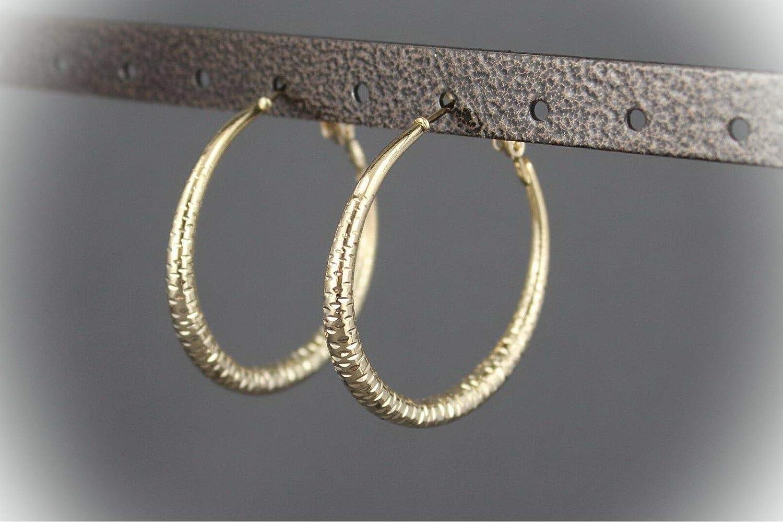 39mm Out Size Earring Hoops Gold Latch Back Earring Leverback Earring DIY Jewelry