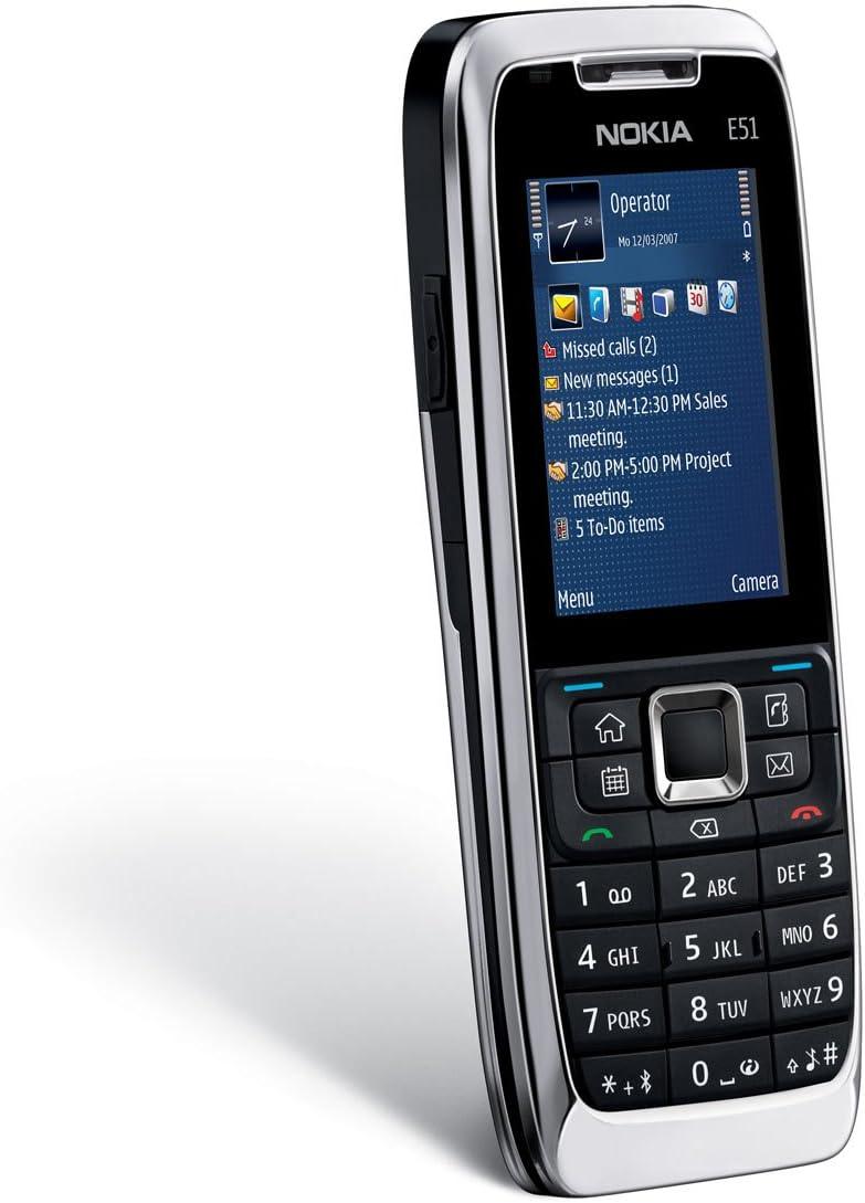 Nokia E51 - Móvil libre (pantalla de 2
