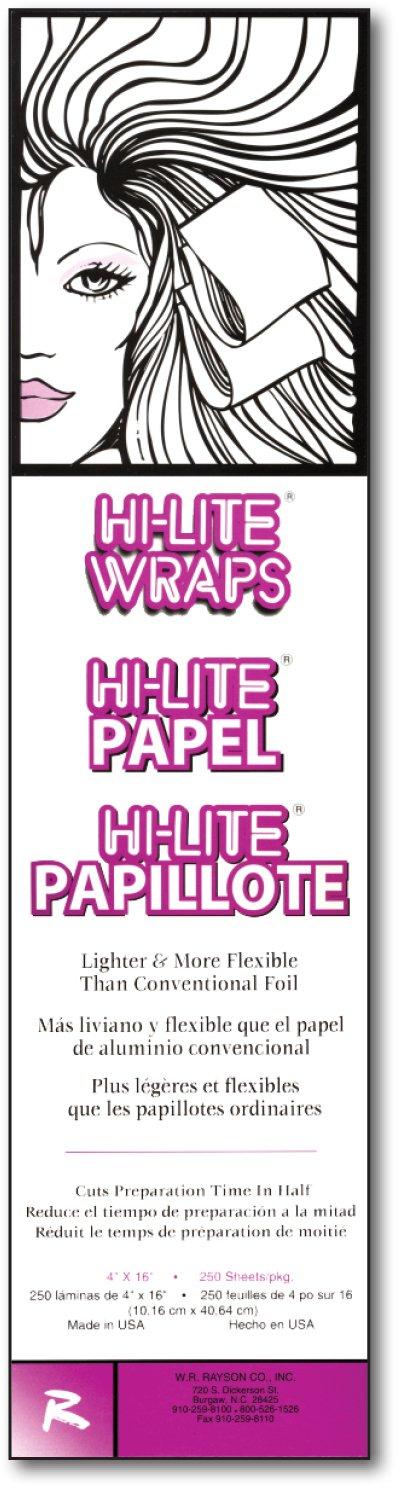 Hi-Lite Wraps 4 x 16, 250 Sheets Per Box, case of 6 boxes by It's a Wrap by Rayson (Image #1)