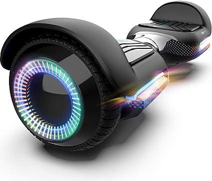Amazon.com: Gyroor Swift patinete autoequilibrado con luces ...