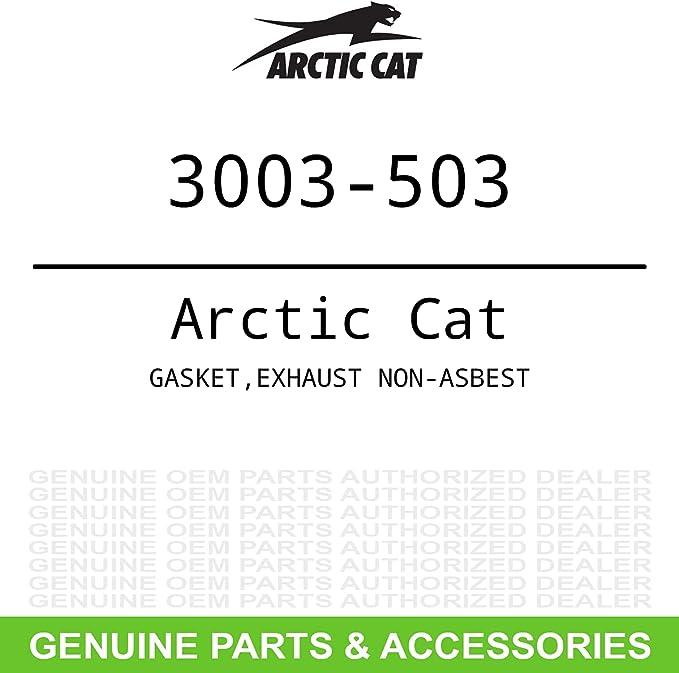 Exhaust Gasket Fits 1976 Arctic Cat Z 440
