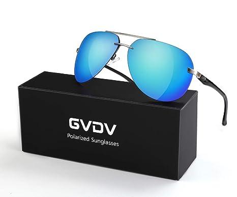Men/'s Retro Polarized Metal Pilot Sunglasses Glasses Driving Fishing Eyewear