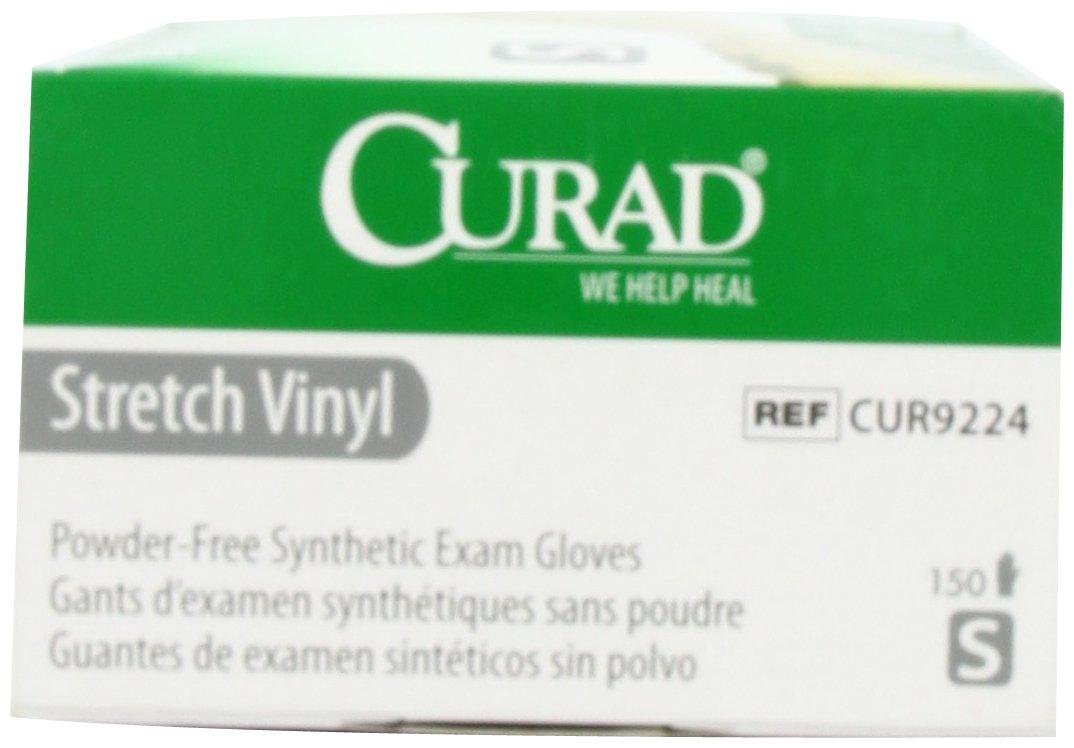 Large Curad Stretch Vinyl 150 Count 6CUR9226